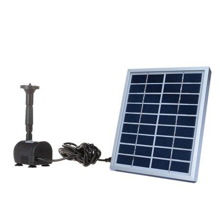 Fuentes solares para jardin