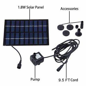 accesorios bomba solar para estanques barato kit